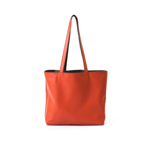 reversible-bag-grijs-oranje-leer